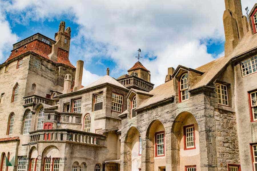 Fonthill Castle Exterior-8812
