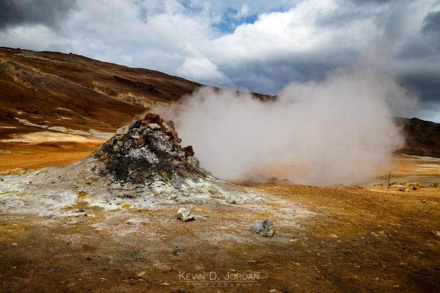 Hverir geothermal area (© Kevin D. Jordan Photography)