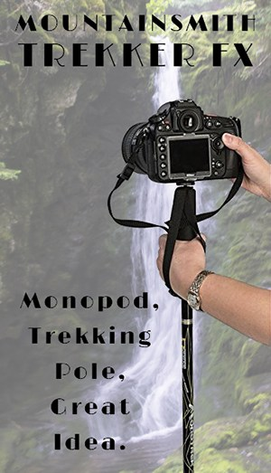 Mountainsmith Monotrek - Monopod, Trekking Pole, Great Idea.