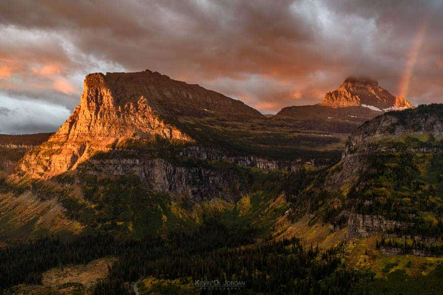 Logan Pass at sunrise (© Kevin D. Jordan Photography)