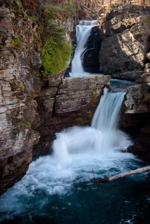 Saint Mary Falls (© Kevin D. Jordan Photography)