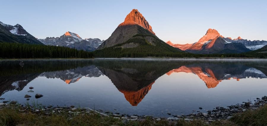 Swiftcurrent Lake (© Kevin D. Jordan Photography)