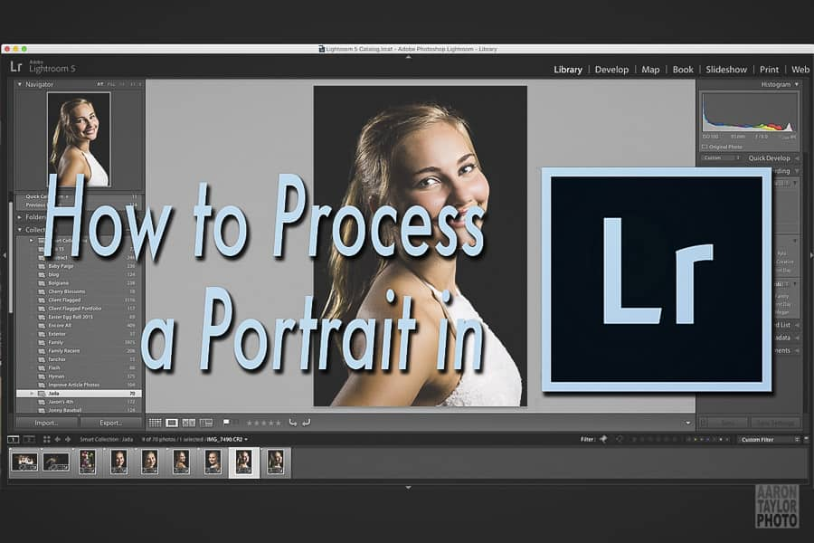How to Process a Portrait in Lightroom