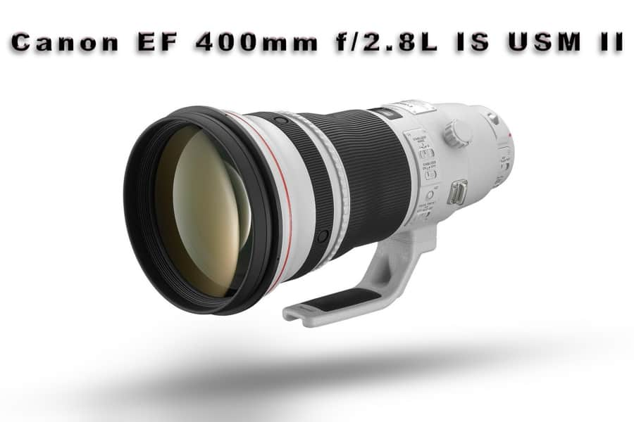 This Canon EF 400mm f/2.8L IS USM II is a BEAST of a lens and it is seen in the bags of many top pro shooters. At about $10,000, it isn't going to be seen by many other than those who earn a living shooting sports and wildlife.