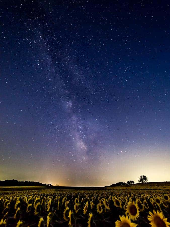 Stay late for some Milky Way shots.  Photo by Rusty Parkhurst.