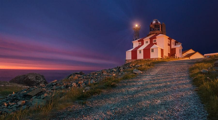 A photo of the Cape Bonavista Lighthouse in Newfoundland, by Tracy Munson.