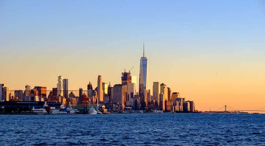 City view from Hoboken. Photo by author.