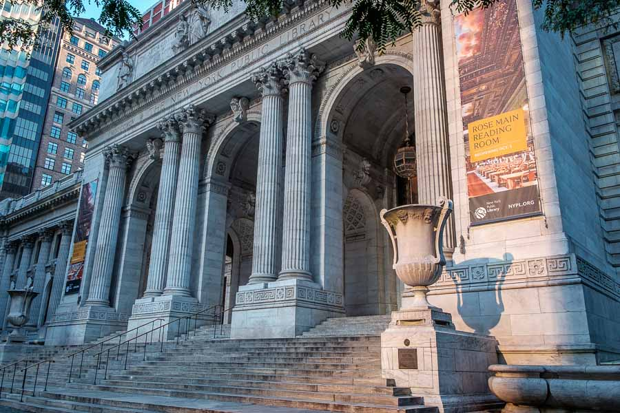 New York Public Library. Photo by author.