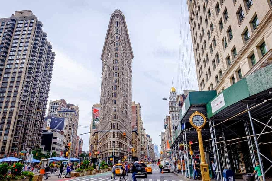 The Flatiron Building. Photo by author.