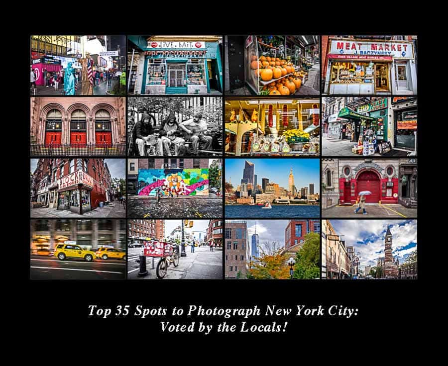 Top 35 Spots To Photograph New York City Voted By The Locals