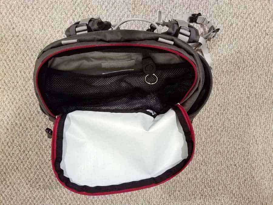 Top pouch of the Ajna.