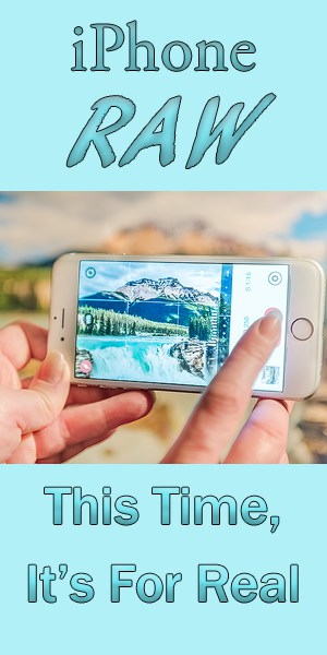iPhone RAW Photos – Now It's For Real