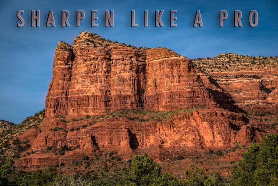 4 Photoshop Sharpening Techniques for Landscapes
