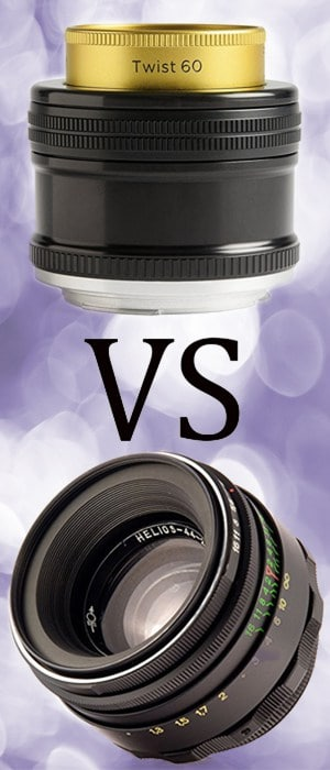 The ultimate battle of the bokeh, between the two champions of swirly blur: Lensbaby Twist 60 vs Helios 44-2