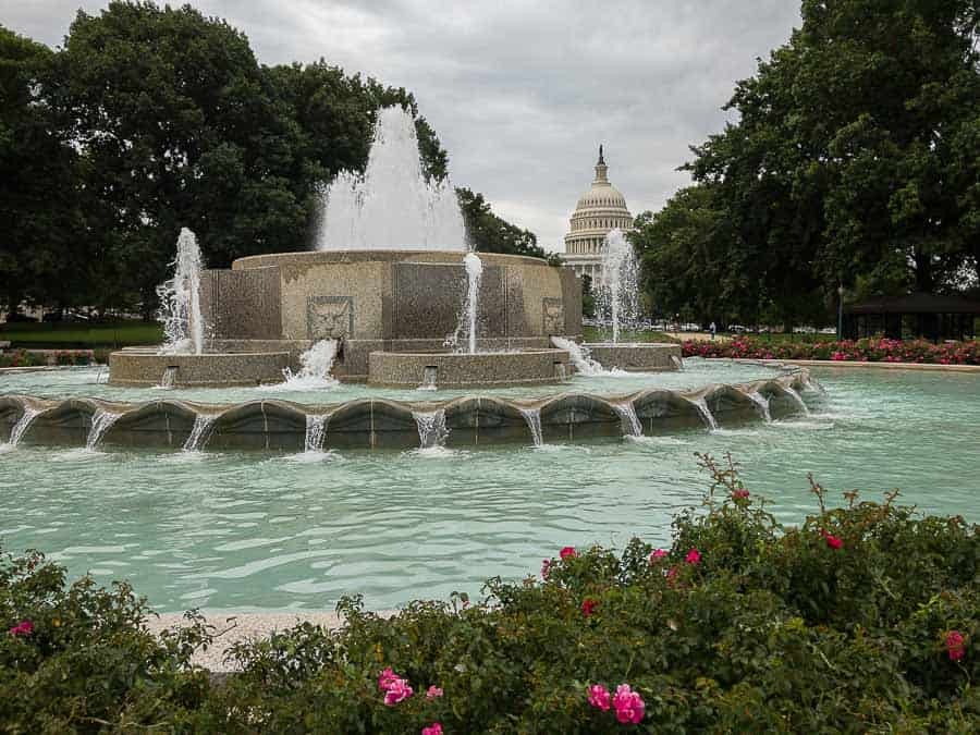 Fountain, Senate Park
