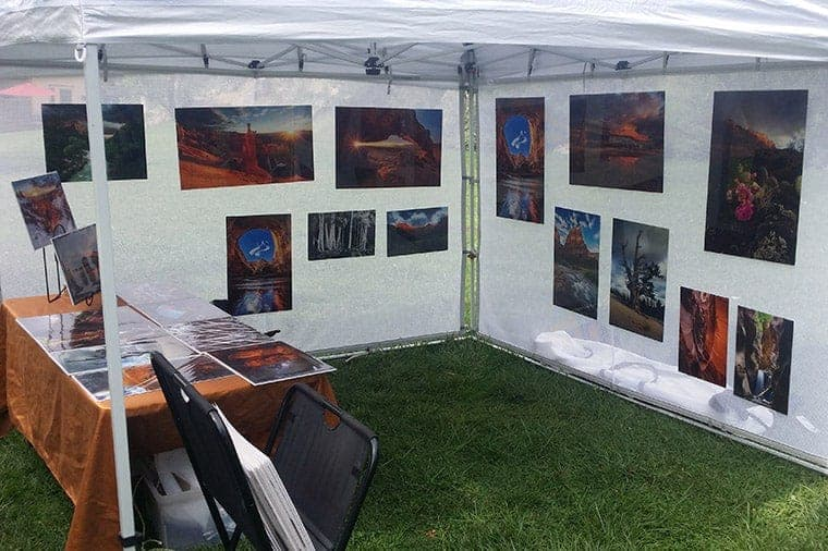 Exhibition Booth Photography : 11 tips for selling photography at an art market u2013 improve photography