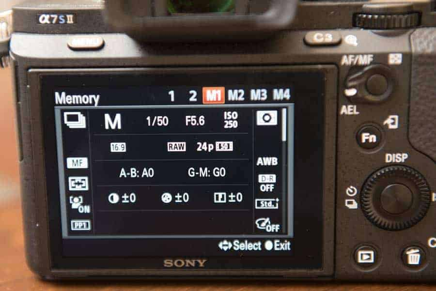 Photography with Custom Buttons and Modes
