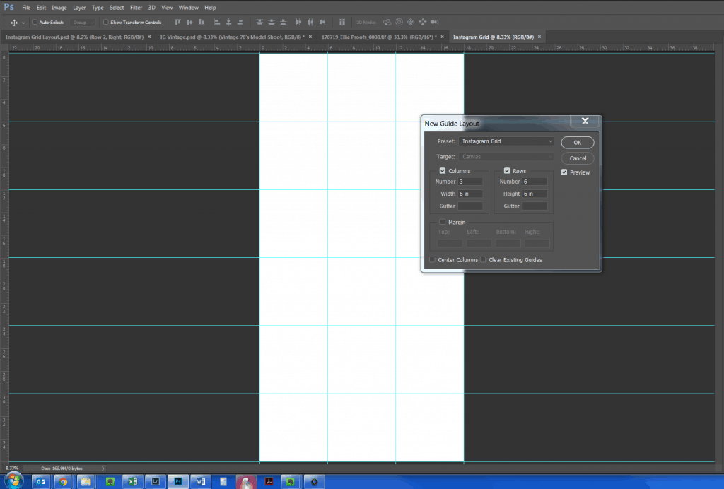 Photoshop Grid Layout