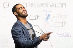 Kickstarter campaign - The Hanga founder, Justin Kershaw