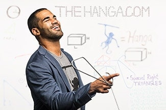 thehanga.com Kickstarter founder Justin Kershaw