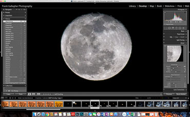 Post-Processing Moon Shots