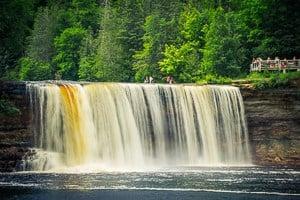 Tahquamenon Falls slow shutter