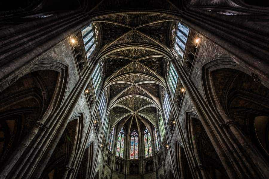 Bodeaux Cathedral interior by Rick McEvoy Photography
