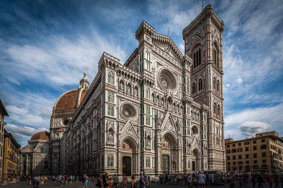 Duomo, Florence, Italy, building, architecture, external