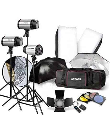 Optex Photo Studio Lighting Kit Review: How To Set Up Three-Point Lighting For Portrait
