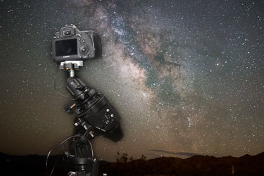 Using a Tracking Mount for Landscape Astrophotography