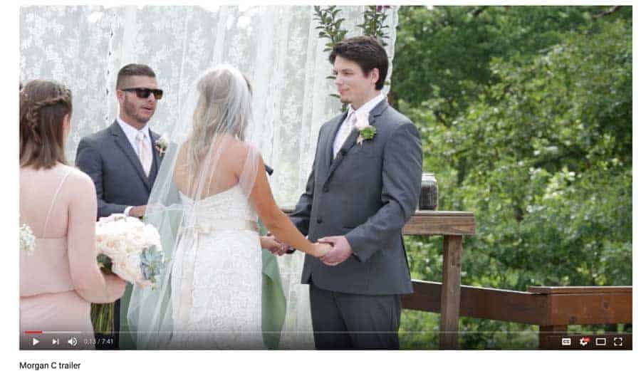 Wedding-Video from photographer