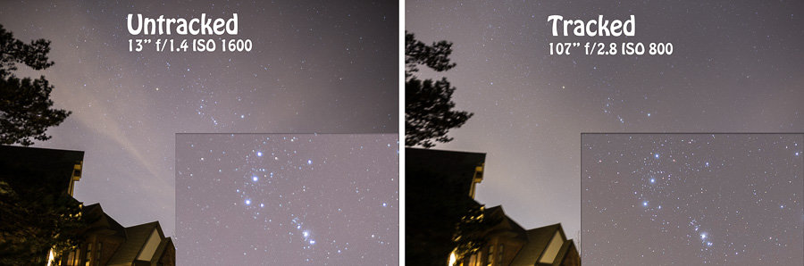 Using a Tracking Mount for Landscape Astrophotography – Improve