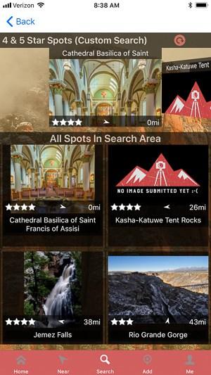 Really Good Photo Spots app