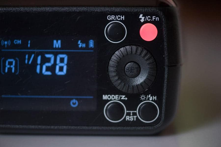 eVOLV 200 buttons