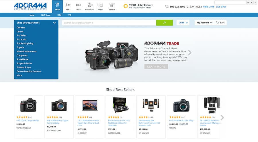 10 Stores To Buy Cameras From And Which Is Best Improve Photography