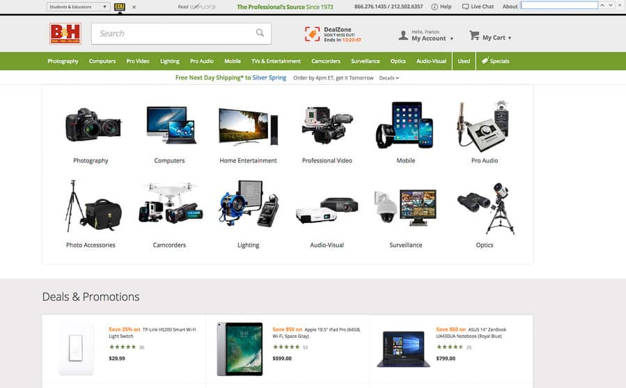10 Stores to Buy Cameras from, and Which Is Best – Improve