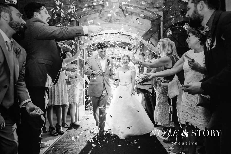 Style & Story Creative wedding exit