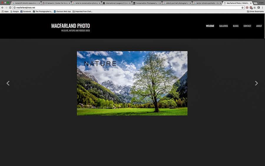 Bill MacFarland's website