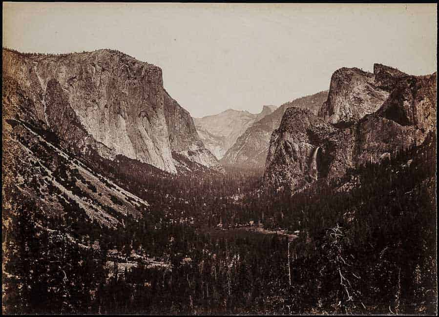 The Yosemite Valley, From The Mariposa Trail