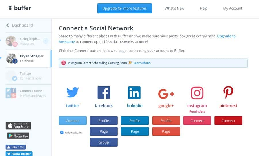 using buffer for social media