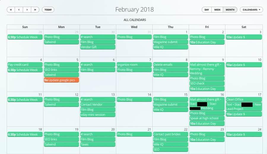 Calendar-17hats