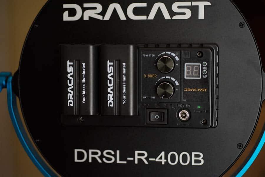 Dracast 400b controls