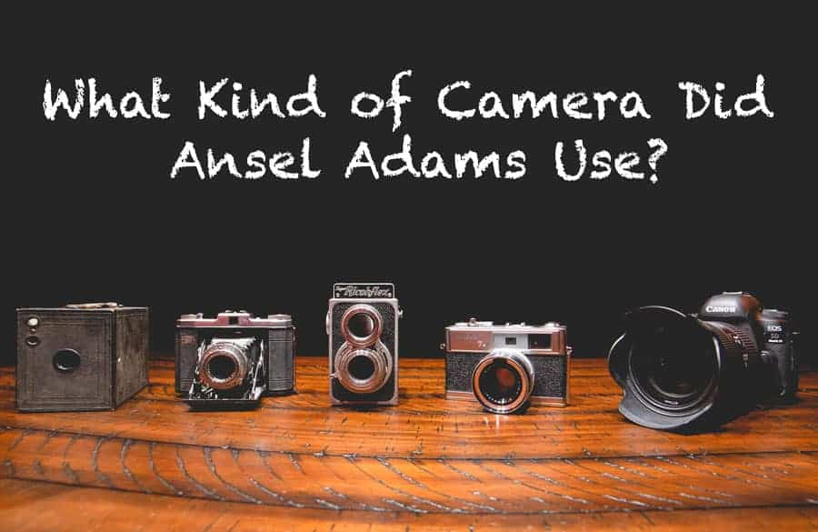 Probably My Favorite Camera These Days >> What Kind Of Camera Did Ansel Adams Use Improve Photography