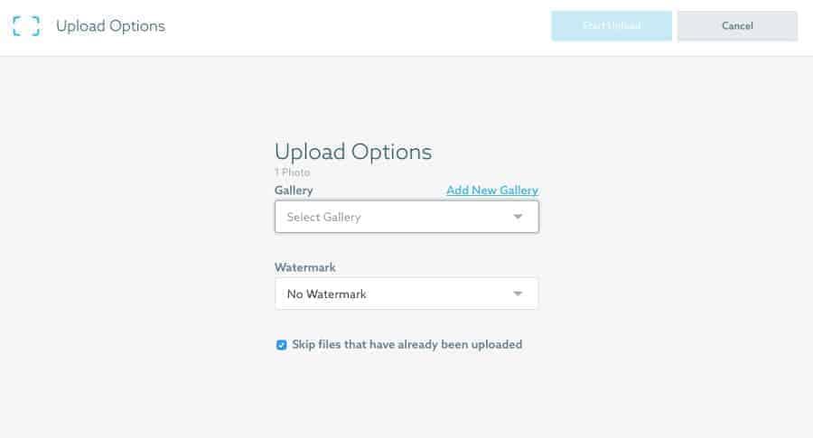 ShootProof desktop uploader