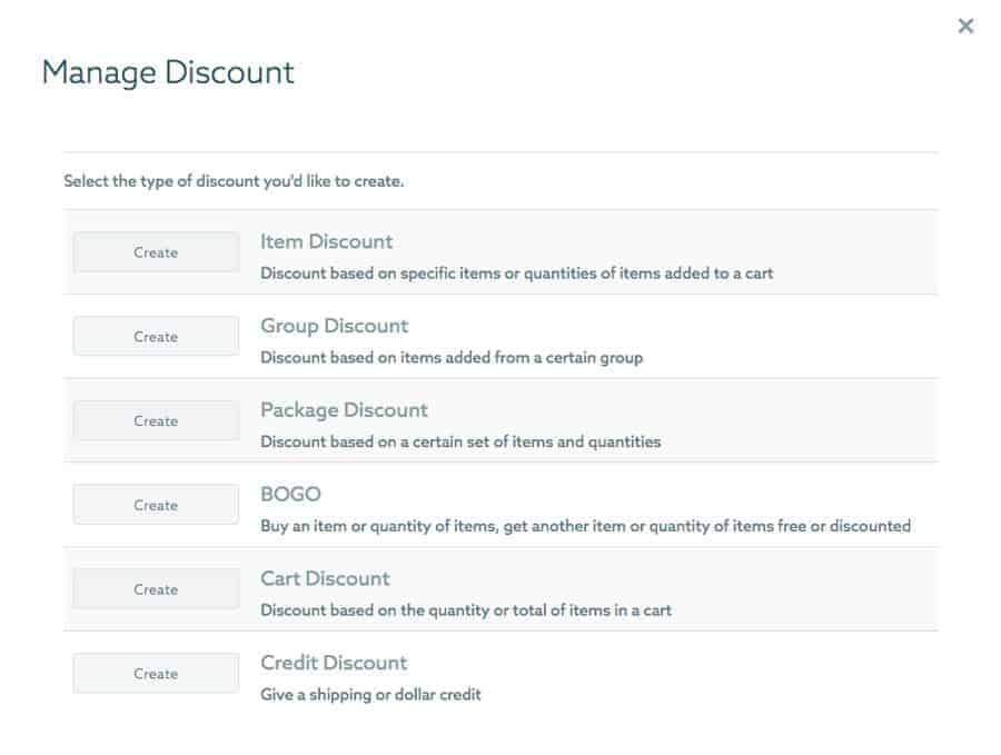 ShootProof discount options