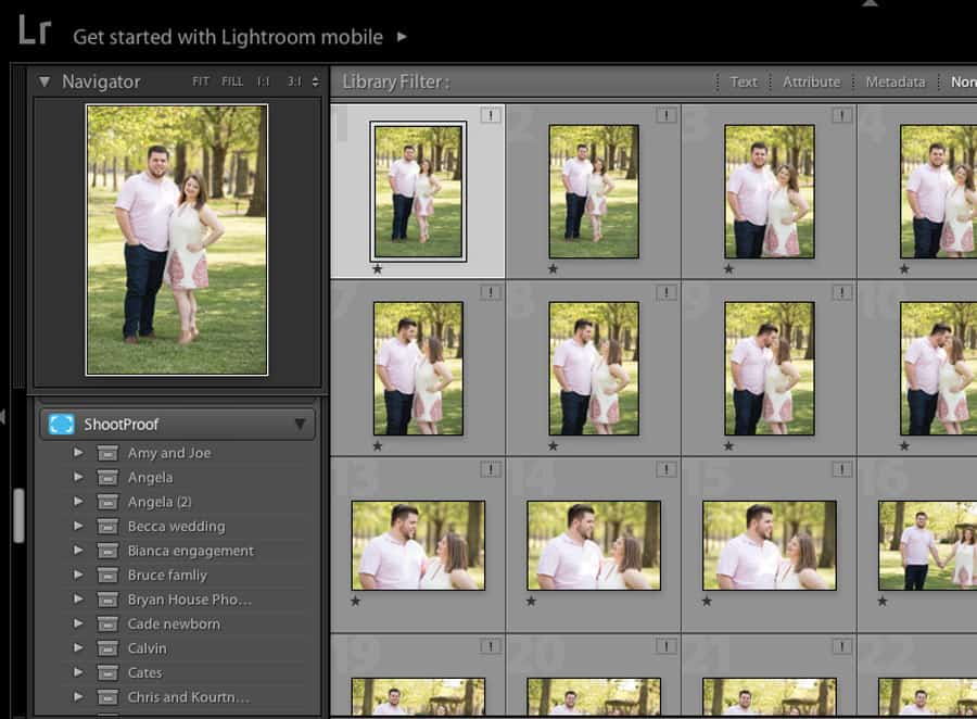 ShootProof Lightroom plugin