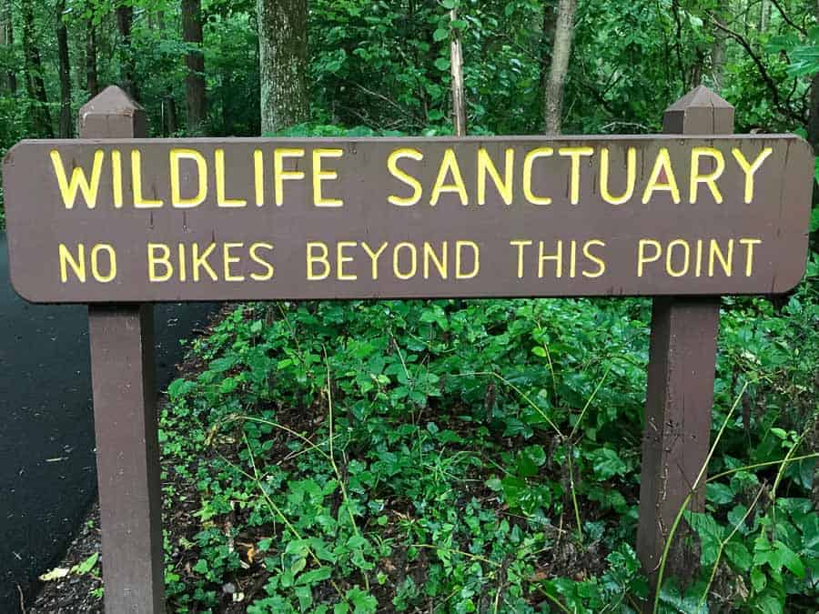Wildlife Sanctuary Sign