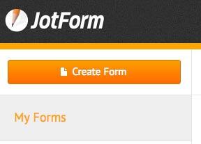 create a new jotform