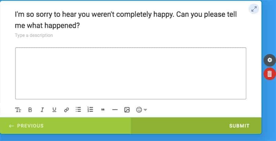 fixing customer complaints