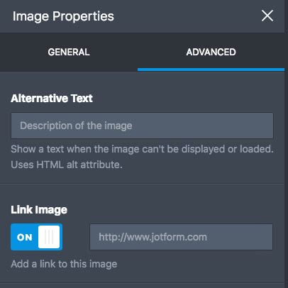 creating a link to an image in jotform